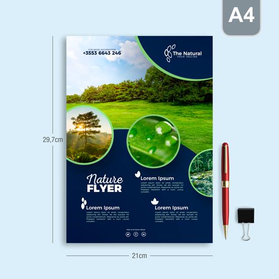 Brosur/Flyer per 100 lembar A4