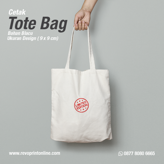 Tote Bag Custom Design ( 9 x 9 cm )