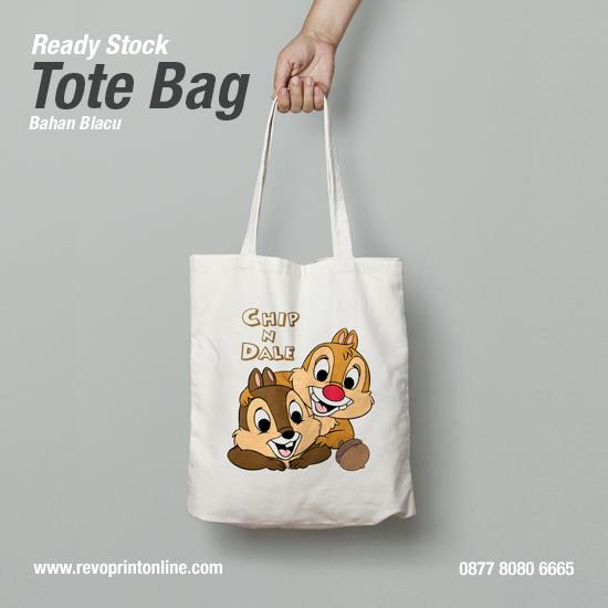 Tote Bag Chip N Dale