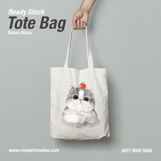 Tote Bag Karakter Kucing