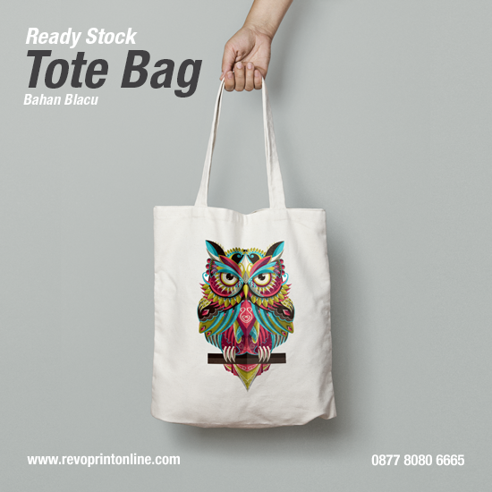 Tote Bag WPAP Art Owl