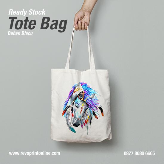 Tote Bag WPAP Art Kuda Pony