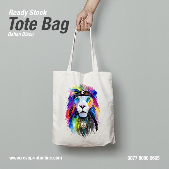 Tote Bag WPAP Art Lion