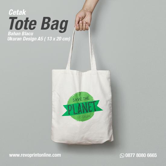 Tote Bag Custom Design A5 ( 13 x 20 cm )