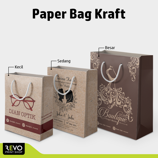 Paper Bag Kraft Cokelat