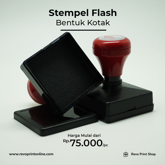 Stampel Flash kotak