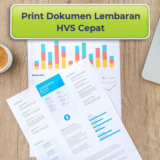 Print Dokumen Lembaran A3 dan A4
