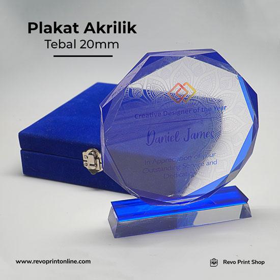 Print Plakat Akrilik Tebal 20mm