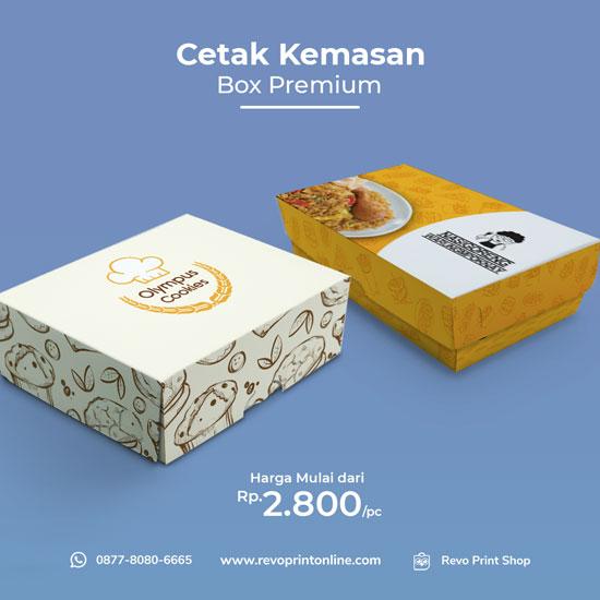 Kemasan Box Premium