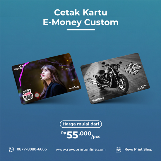 Cetak E-Money Custom