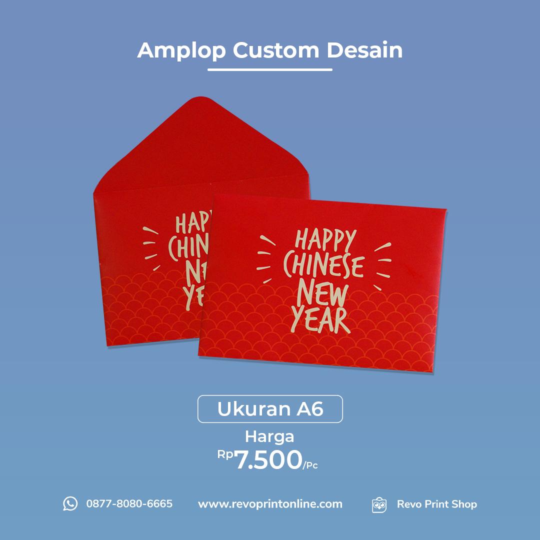 Amplop Custom Desain