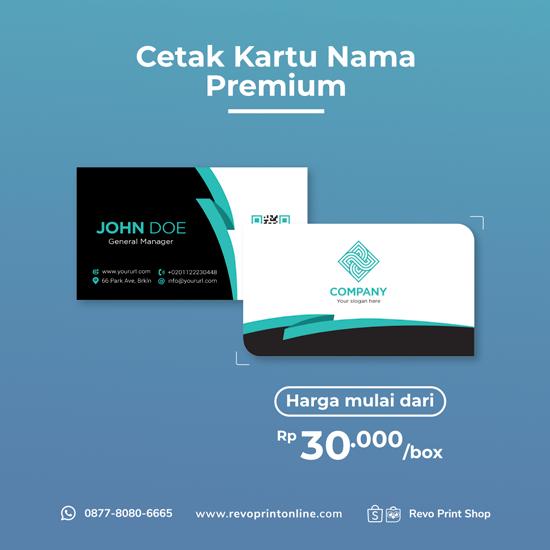 Cetak Kartu Nama Premium
