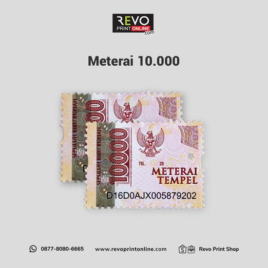 Meterai 10.000