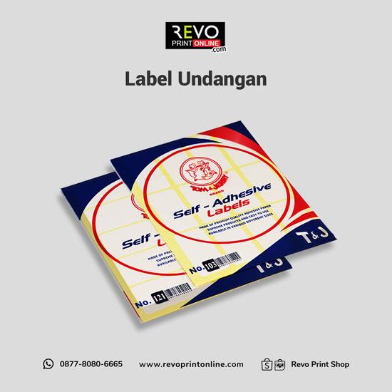Label Undangan