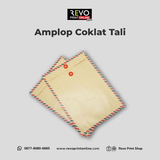 Amplop Coklat Tali