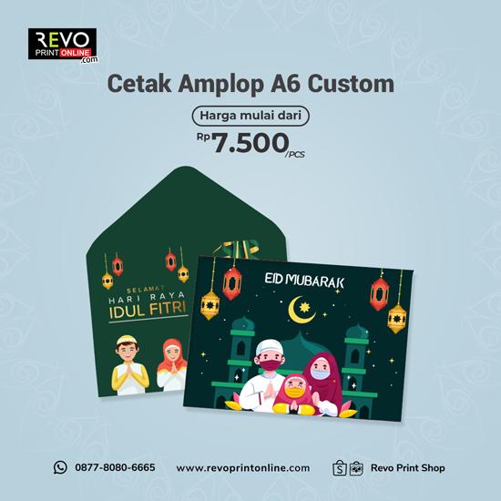 Cetak Amplop A6 Custom