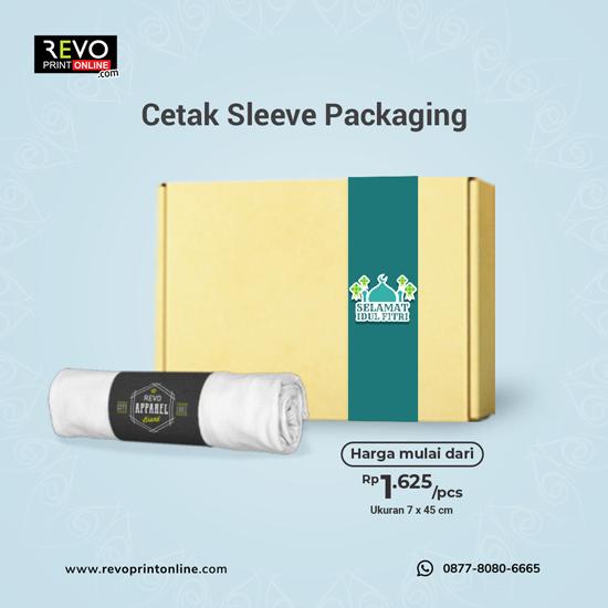 Cetak Sleeve Only ( Paper Belt )