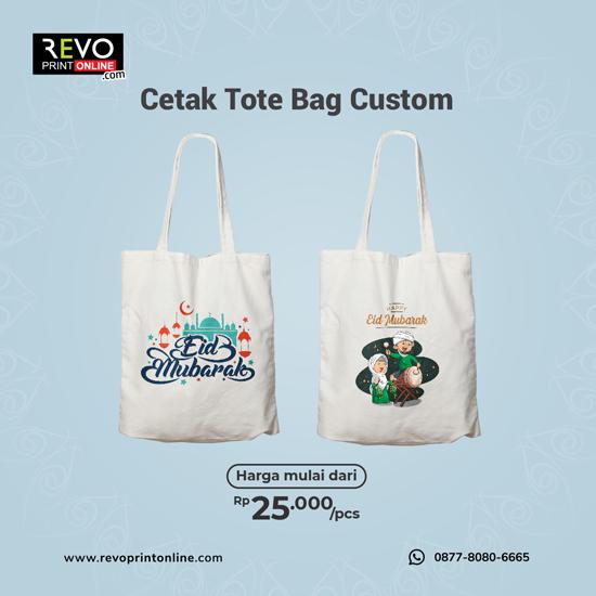 Cetak Tote Bag Custom