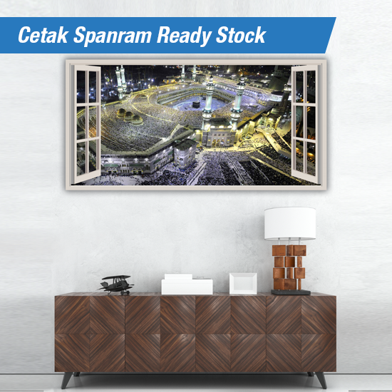 Cetak Spanram Ready Stock