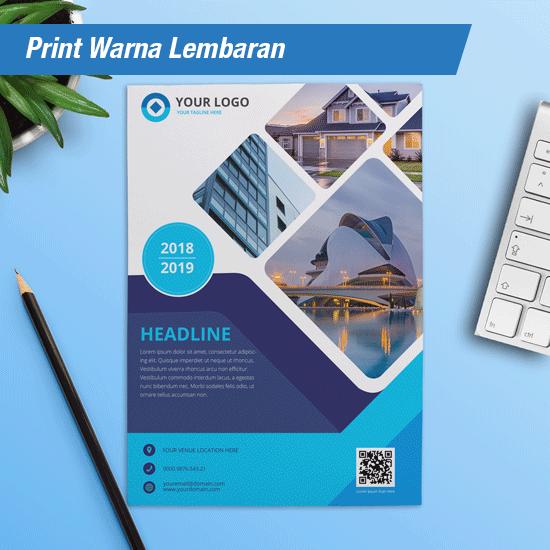 Print Warna Dan Hitam Putih Perlembar A4 dan A3